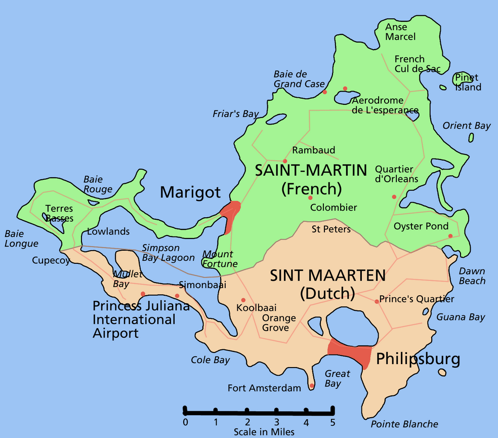 St. Martin Map by Astrokey:44