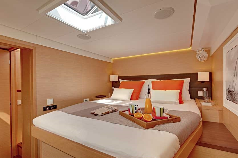ENIGMA Luxury Caribbean Charter Sailing Catamaran Queen Berth