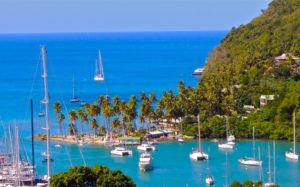 St. Lucia, Caribbean Island yacht charter of romance and adventure