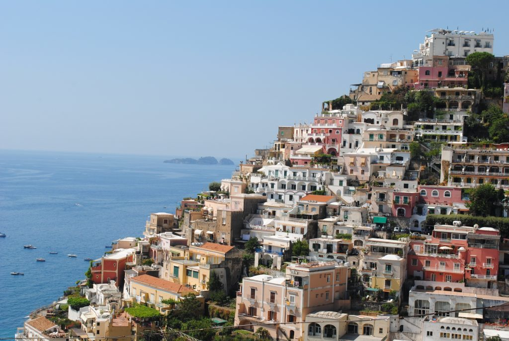 Italy's Amalfi coast, private, crewed yacht charter